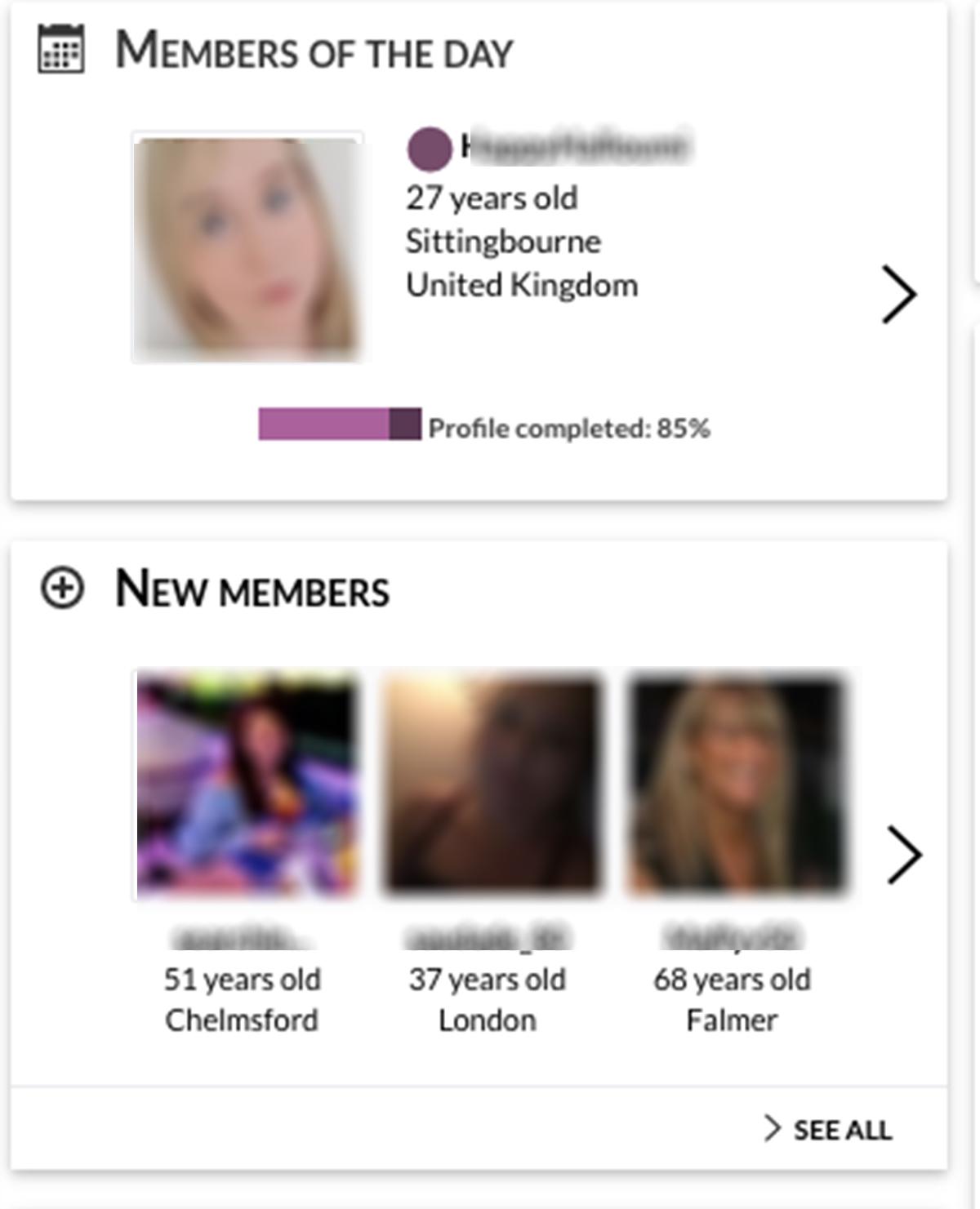 gleeden members
