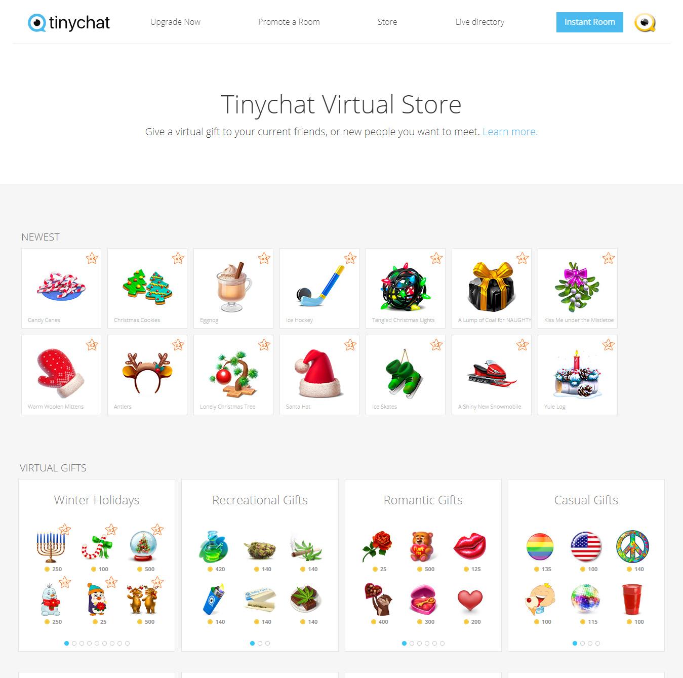 Tinychat Virtual