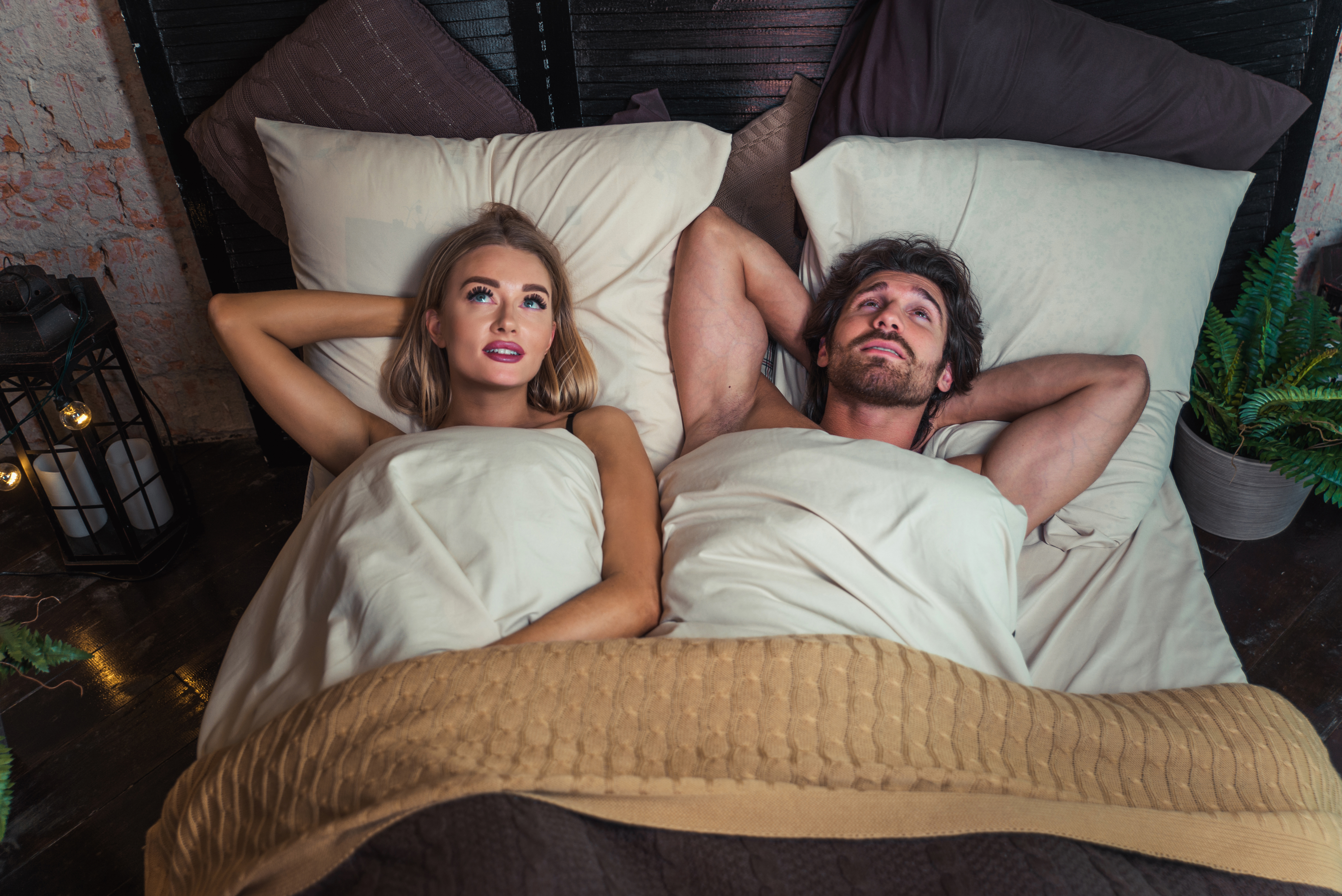 Couple just had sex
