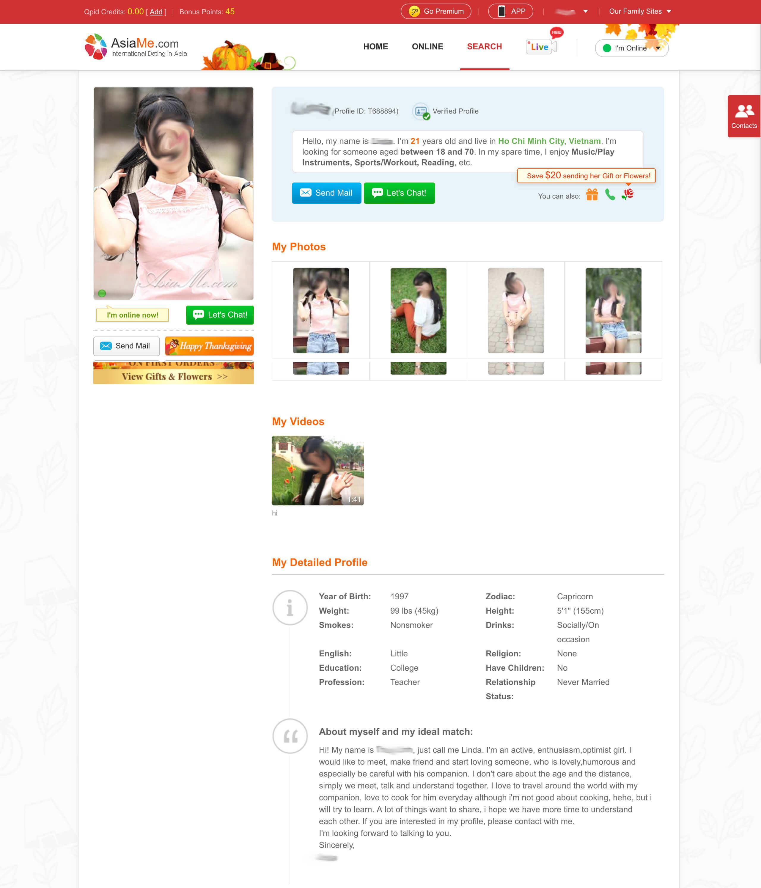 AsiaMe Profile