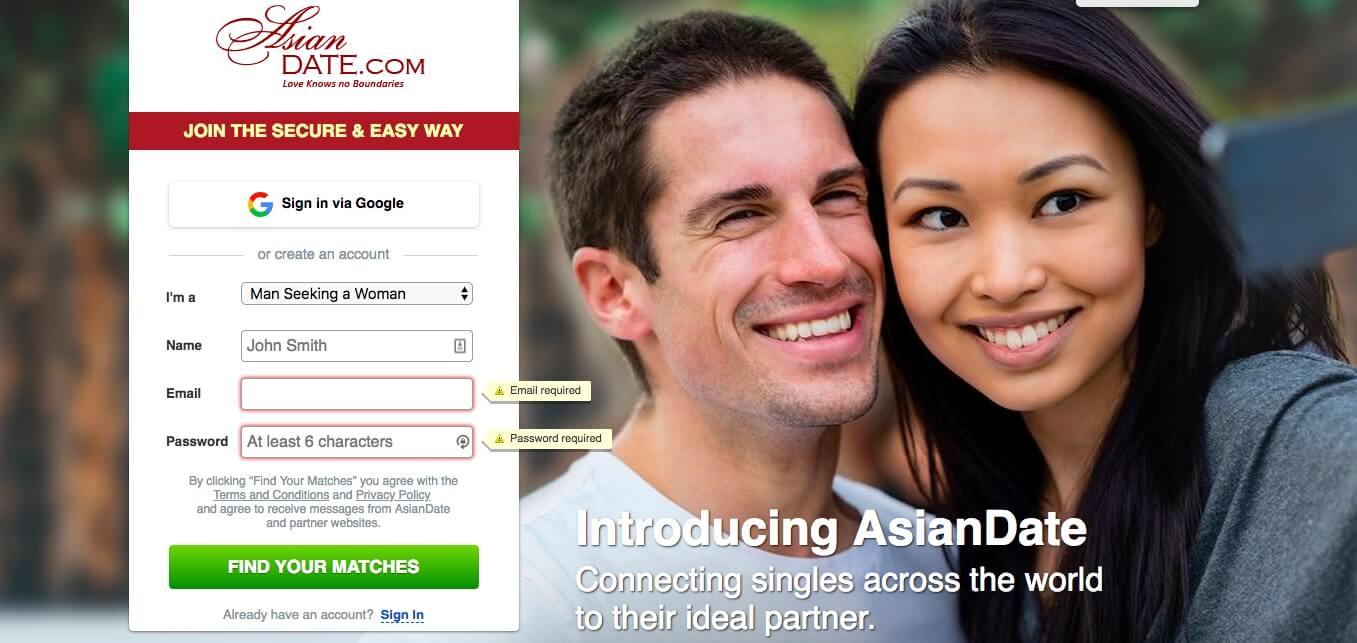 Aziatische Dating Online inloggen