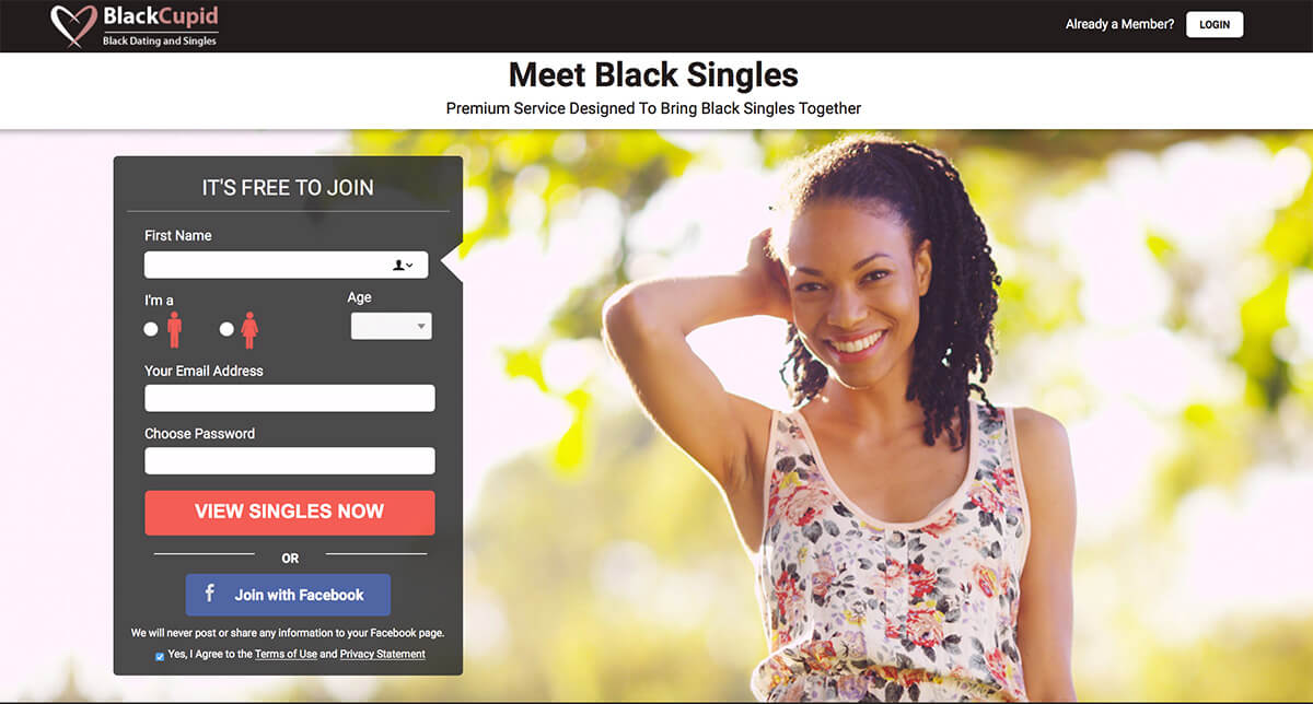 BlackCupid Registration