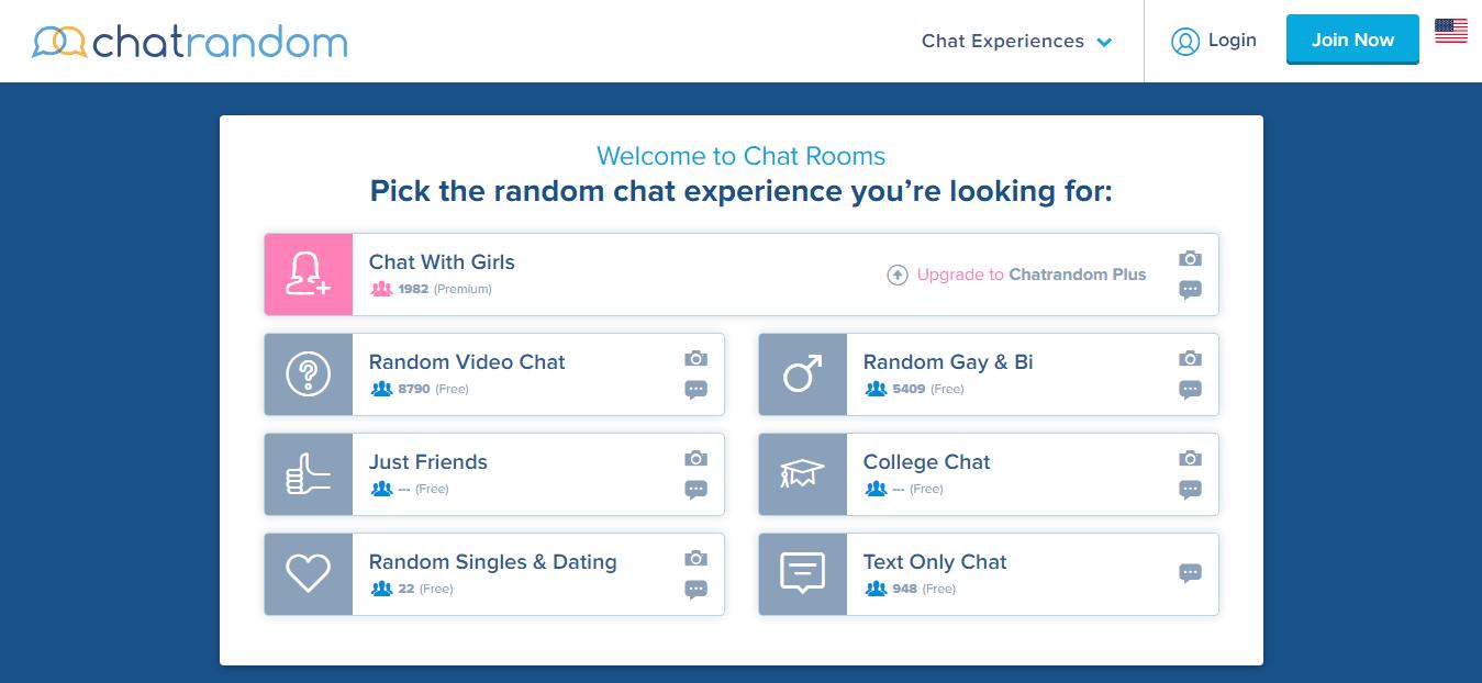 Chatrandom Chat Room