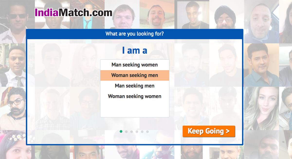 indiamatch registration