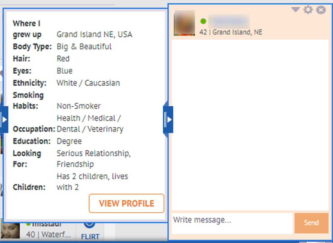 InterracialPeopleMeet Messaging