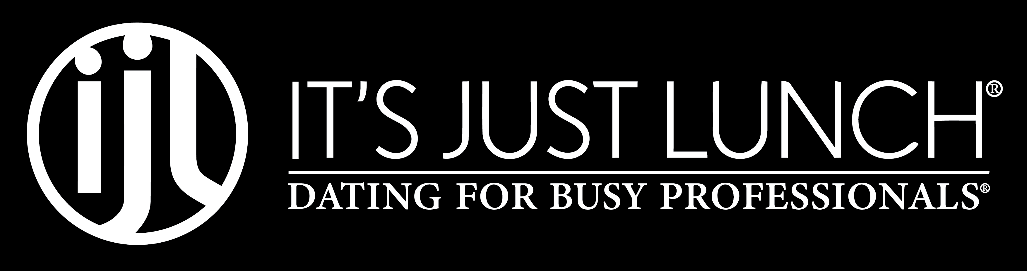 logo of it's just lunch dating site
