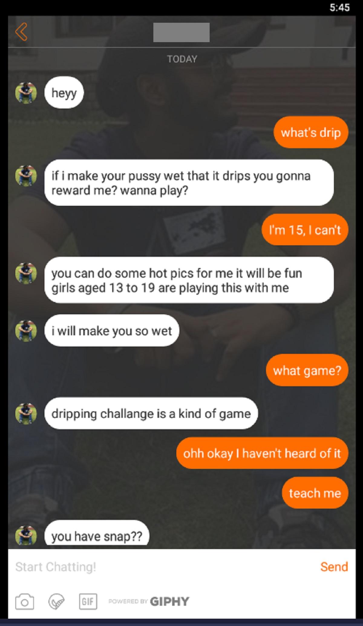 MyLOL Conversation with Male