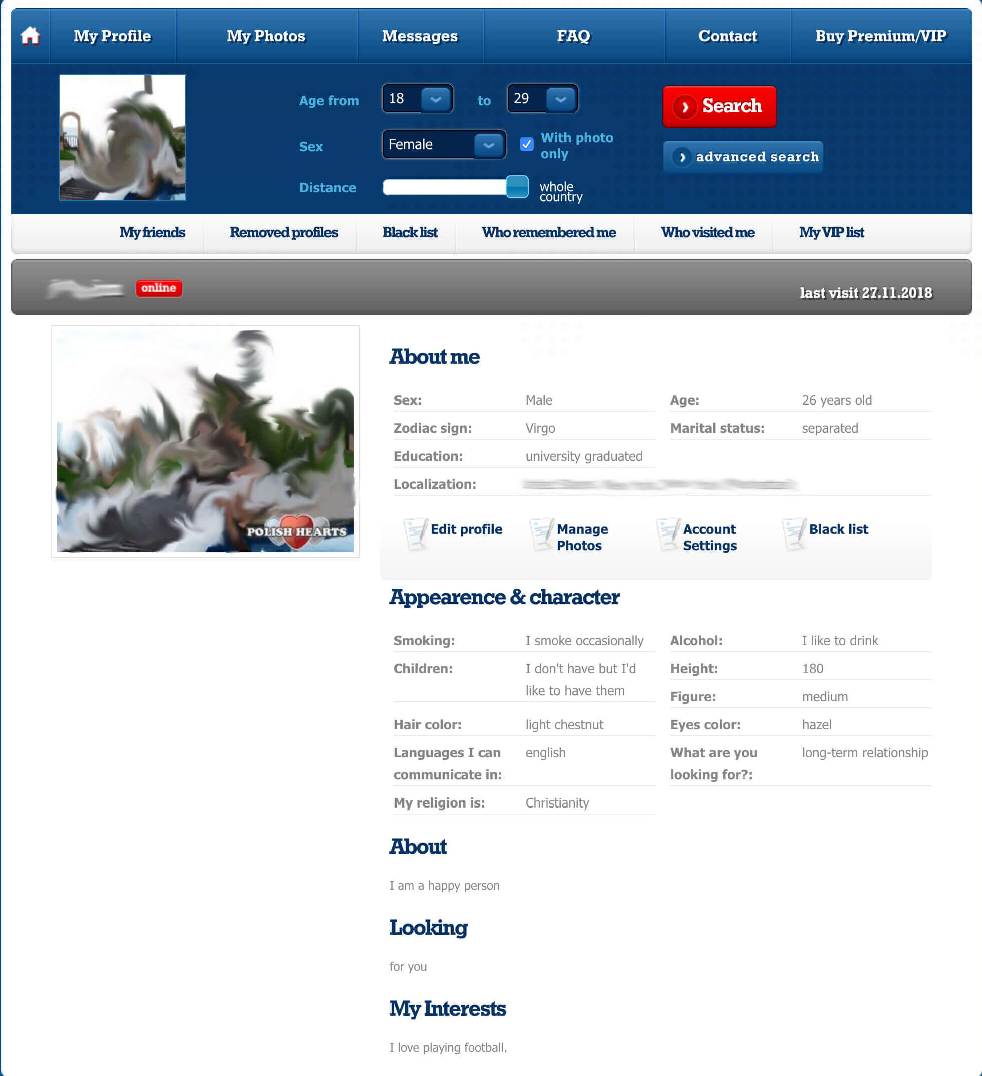 Polish Hearts Profile