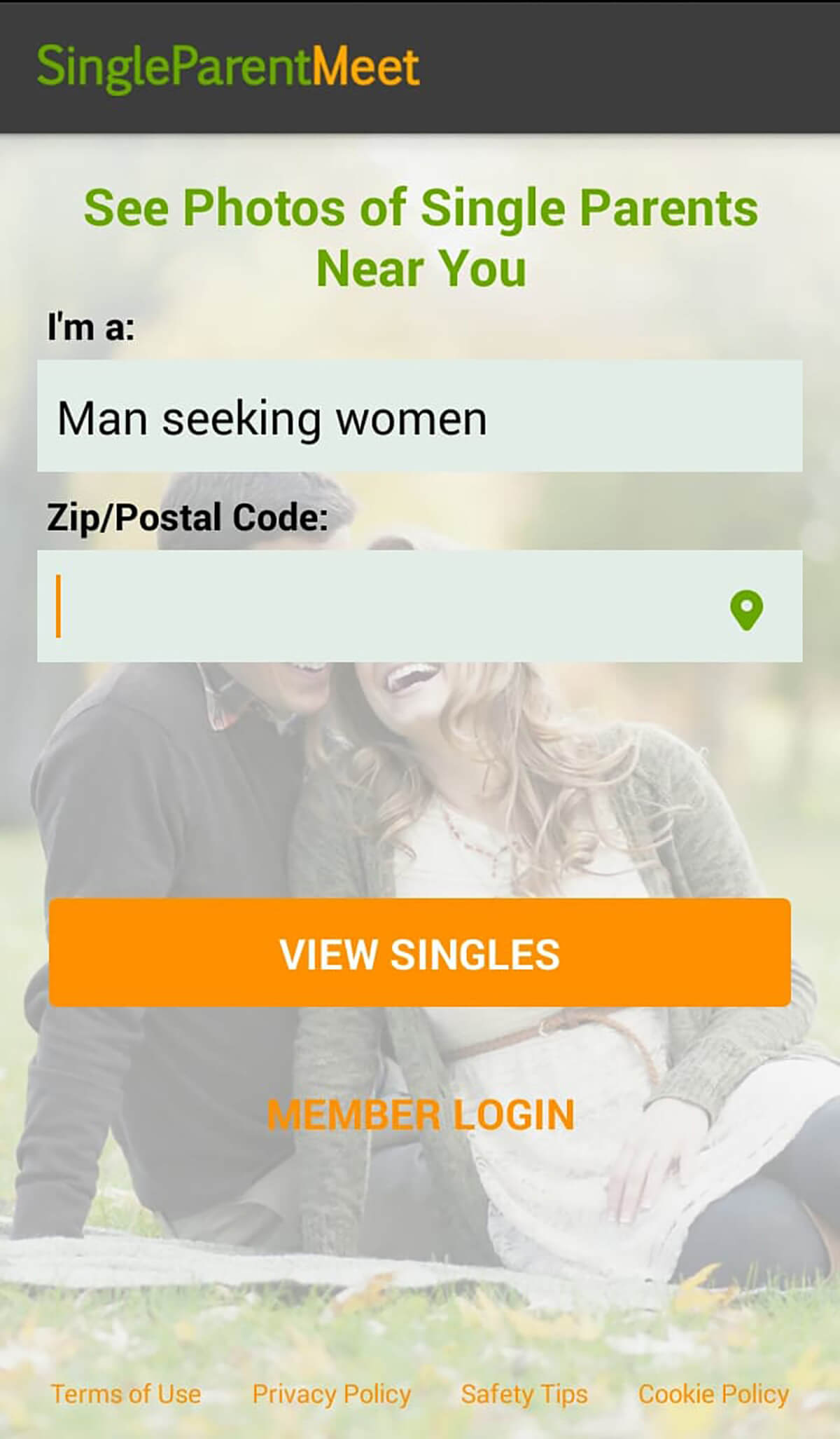 Single Parent Meet App
