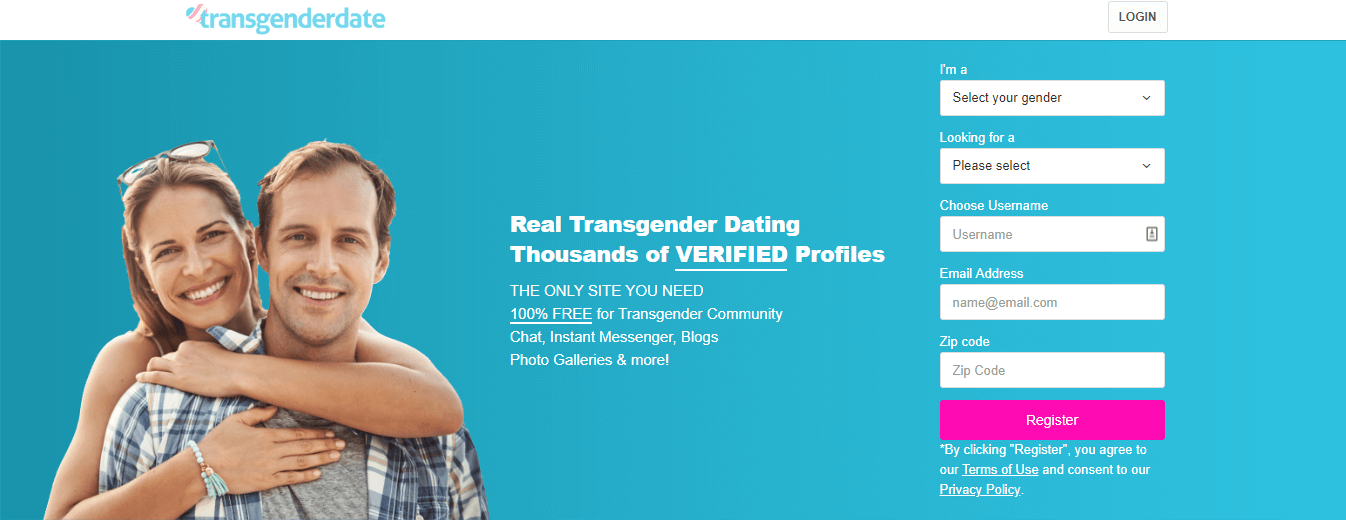 Transgenderdate Registration