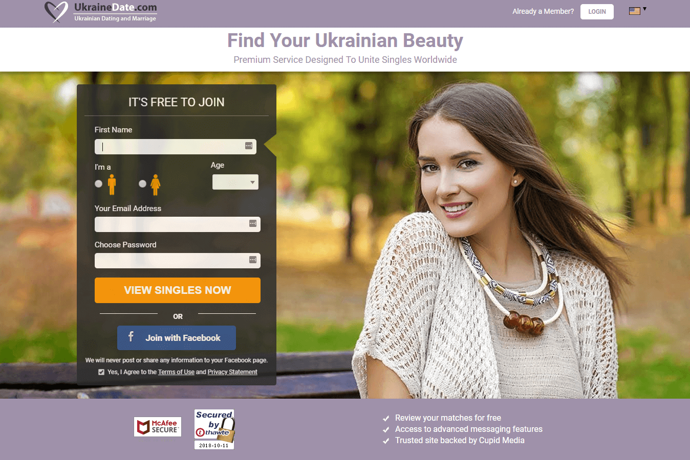 Liste over cupid dating sites
