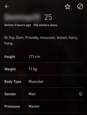 Grindr Profile