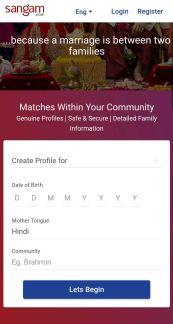 Sangam Registration