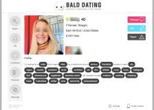 Bald Dating Profile