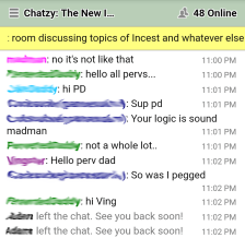 Chatzy App
