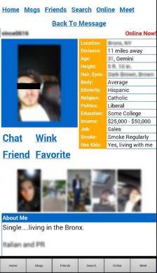 DateHookUp App