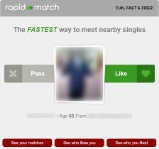 Dating For Seniors Rapid Match