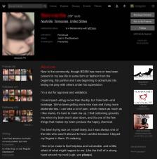 FetLife Profile Info