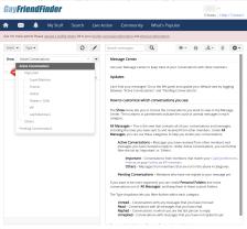 Gayfriendfinder Message Center