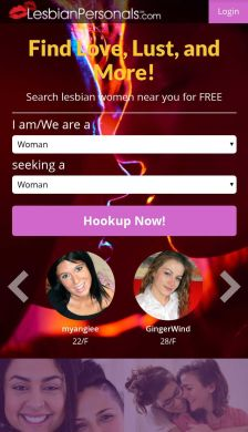 LesbianPersonals Mobile