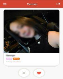 Tantan Female Profile