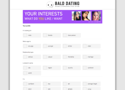 Bald Dating Register