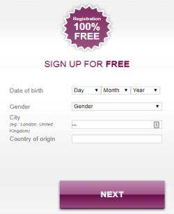 InshAllah.com Sign-Up