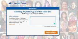 loveandseek registration