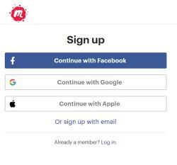 Meetup Registration