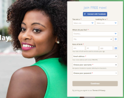 nigerian dating signup