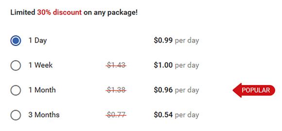 FlirtyMature US Price
