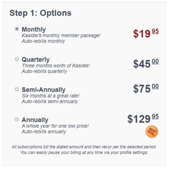 kasidie US price