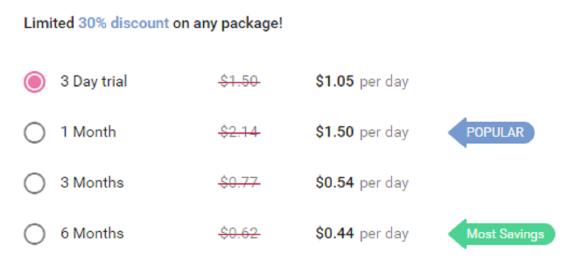 MamFlirt Price USD