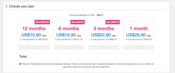 MyTranssexualDate Pricing US