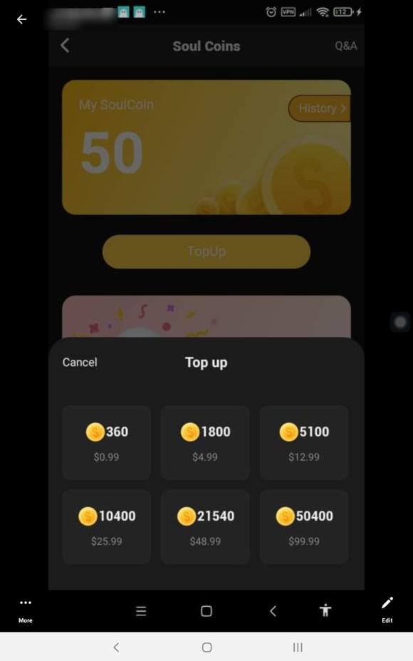 Soul App Costs
