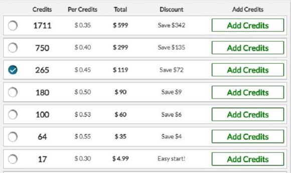 Step2Love Pricing