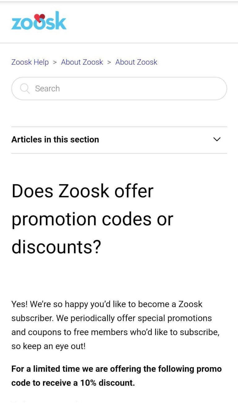 Zoosk for free use How to