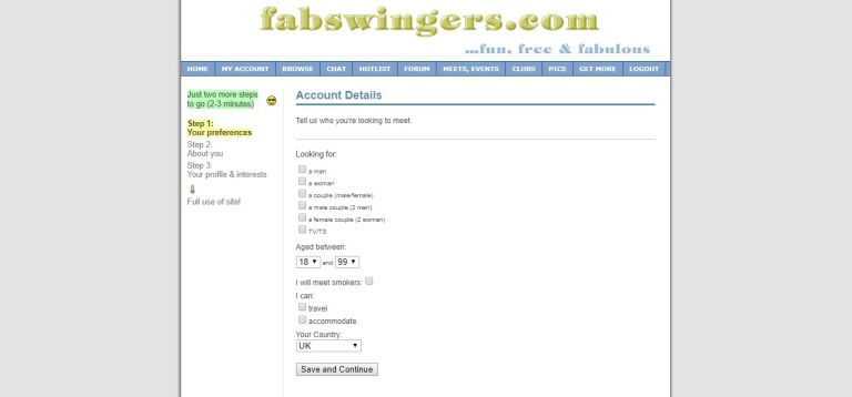 FabSwingers Review April 2021 - Scam or real dates