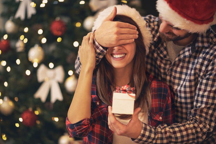 Couple Gift Giving