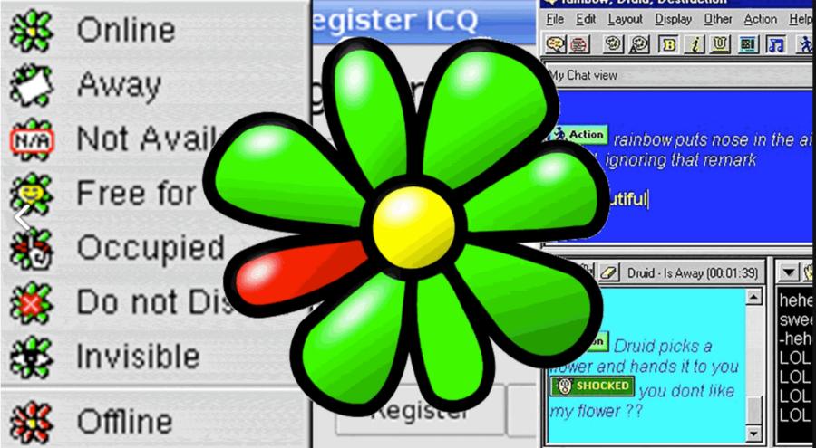 ICQ Chat 90ies