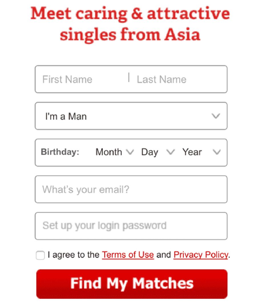 AsiaMe Registration