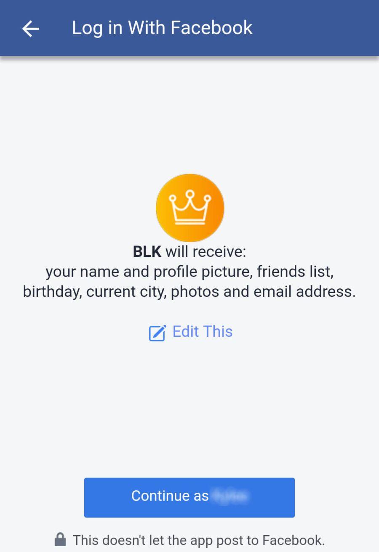 BLK facebook