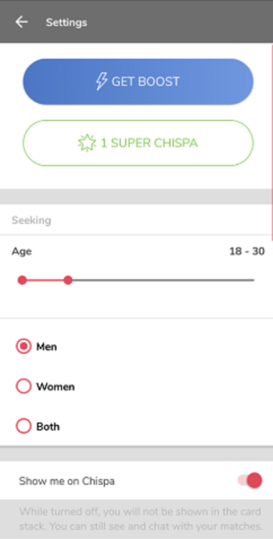 Chispa Contact