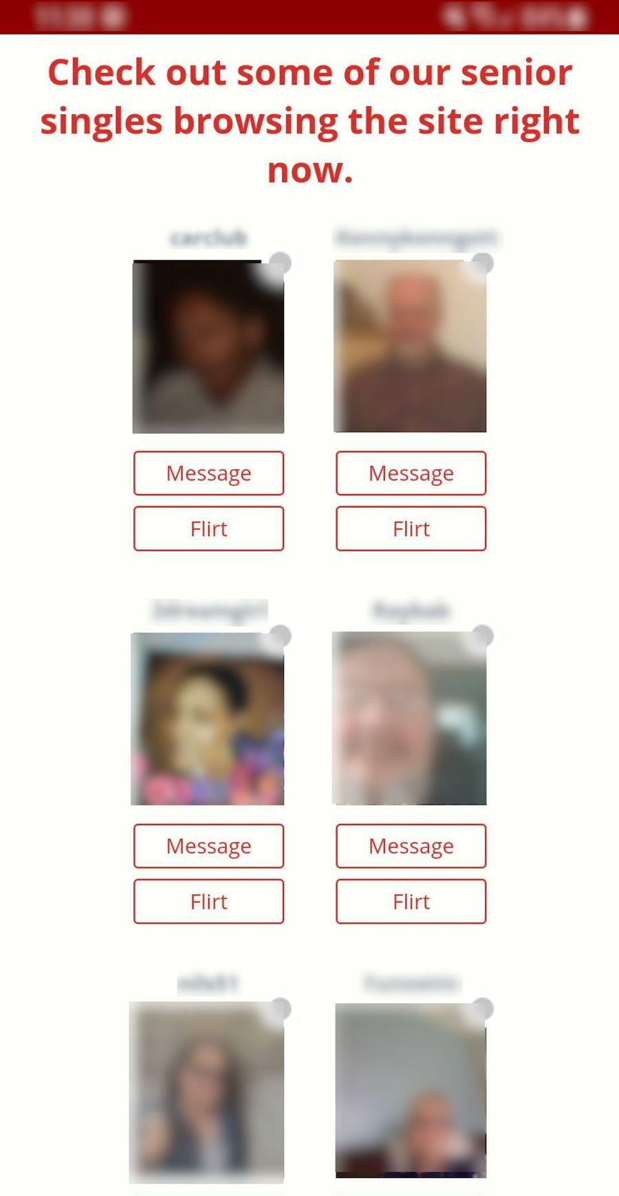Dating For Seniors Mobile