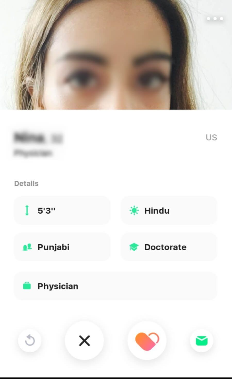 Dil Mil Female Member Profile