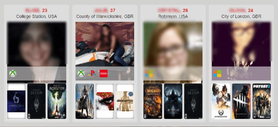 Gamer Dating Members