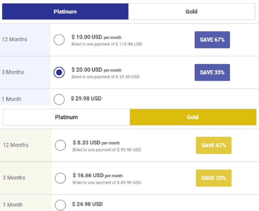Hongkong Cupid Prices