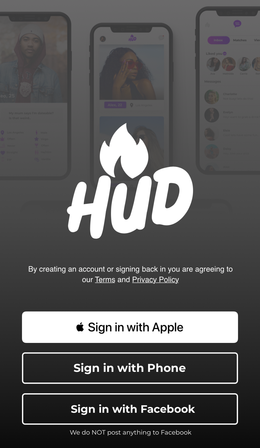 HudApp SignUp