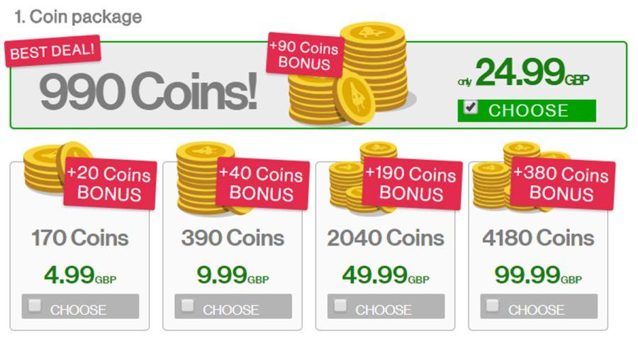 iDates Coins