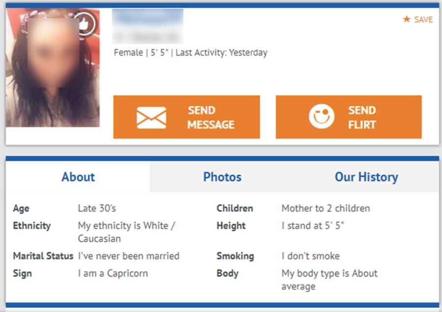InterracialPeopleMeet Female Profile
